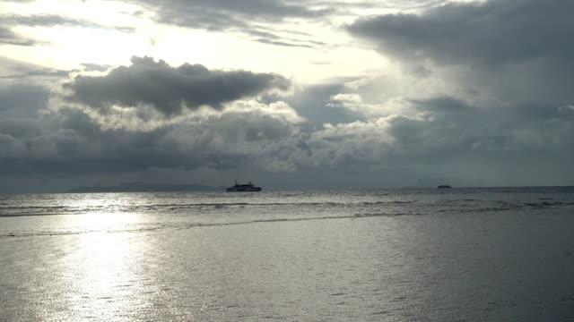 Sunset at Nathon beach, Samui, Surat Thani, Thailand