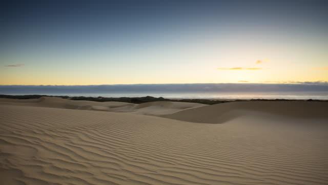 Sunset at San Louis Obispo Dunes - Timelapse