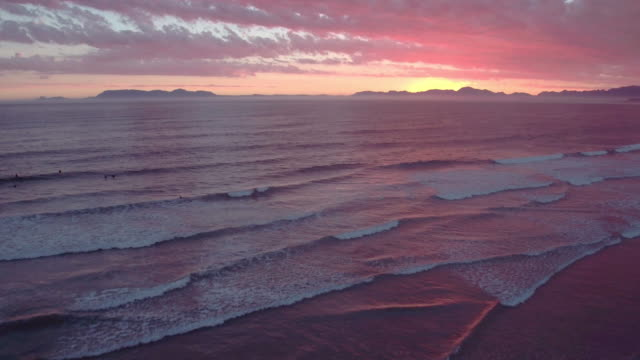 Zonsondergang op zee, het spul dat dromen van gemaakt zijn