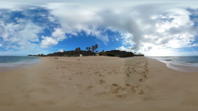 sunset beach north shore oahu hawaii - 360 stock videos & royalty-free footage
