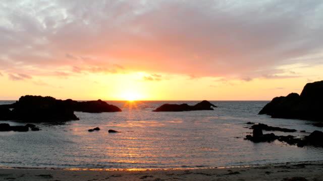 Sunset beach,Northern Ireland