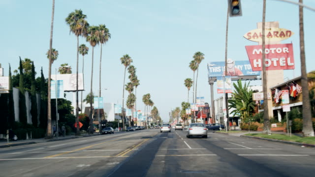 POV Sunset Blvd., Hollywood, Los Angeles, United States