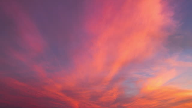 sunset cloud - red cloud sky stock videos & royalty-free footage