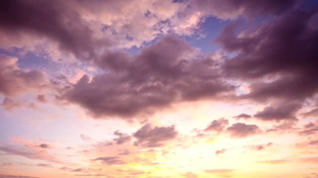 Sunset Clouds time-Lapse