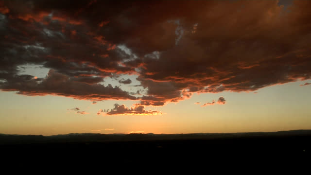 sunset clouds, timelapse - stratocumulus stock videos and b-roll footage