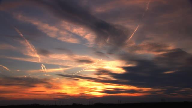 Nubes al atardecer (en limpio