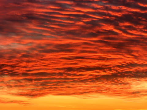 ntsc: sunset clouds - saturated colour stock videos & royalty-free footage