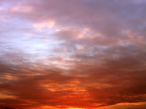 pal: sunset clouds - other stock videos & royalty-free footage