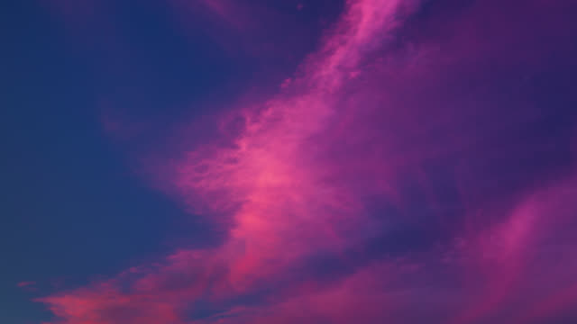 time lapse: sunset clouds - purple stock videos & royalty-free footage