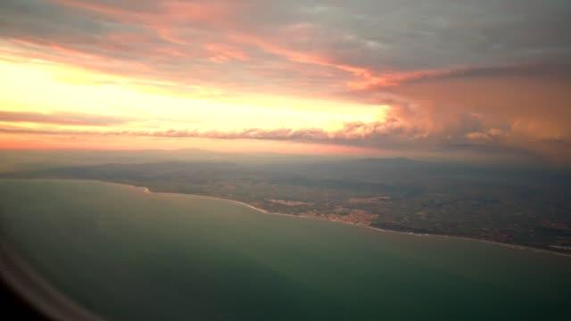 zonsondergang vanaf de patrijspoort