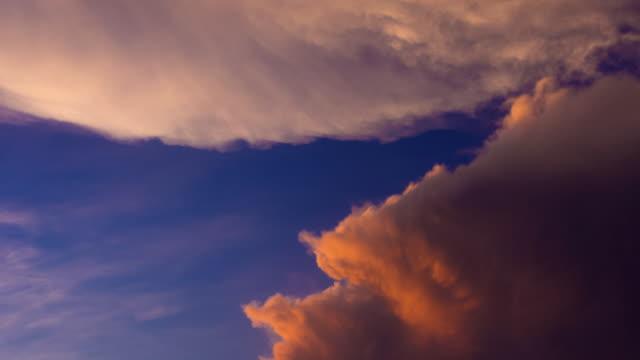 sunset glow scene in summer 4k - impact stock videos & royalty-free footage