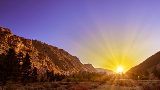 Coucher de soleil en Amérique