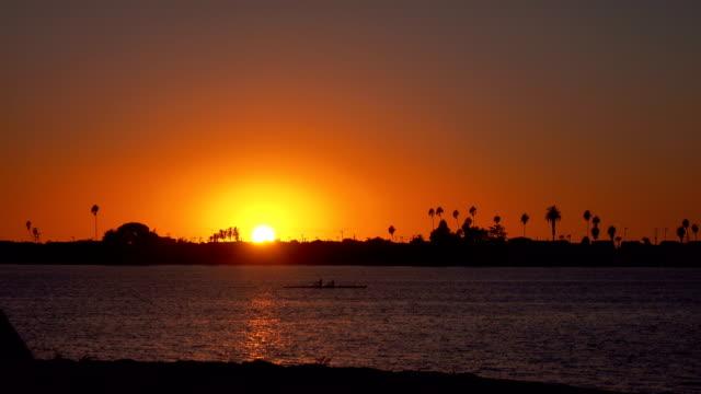 Sunset in California in 4K
