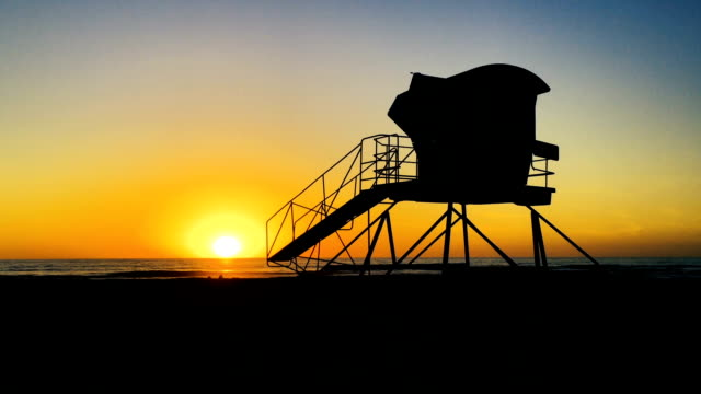 sunset in california - san diego stock videos & royalty-free footage