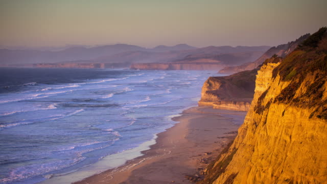 Sunset in Half Moon Bay - Time Lapse