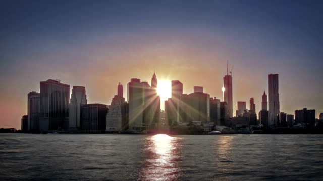 Sonnenuntergang in New York