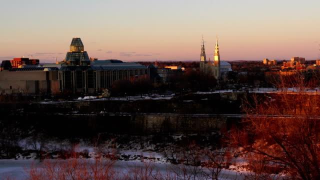 Sunset in Ottawa