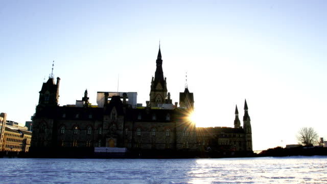 sunset in ottawa - ottawa stock videos and b-roll footage