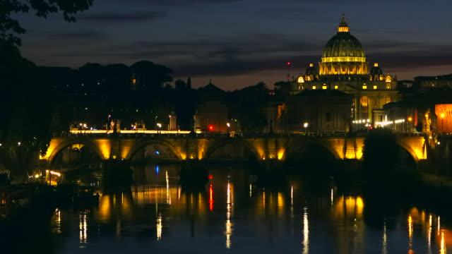 ローマの夕日 - ラツィオ州点の映像素材/bロール