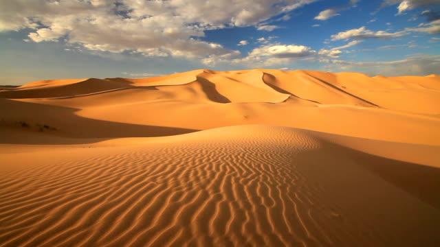 Sunset in Rub al Khali Desert - Empty Quarter
