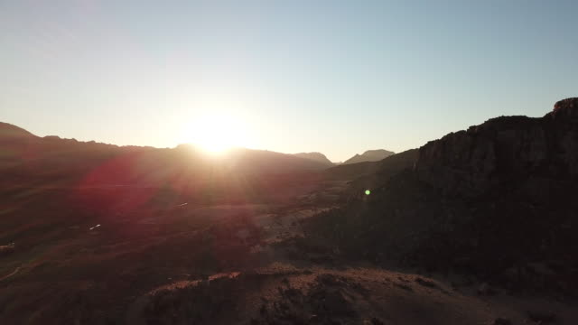 Sunset in the Cederberg Mountains