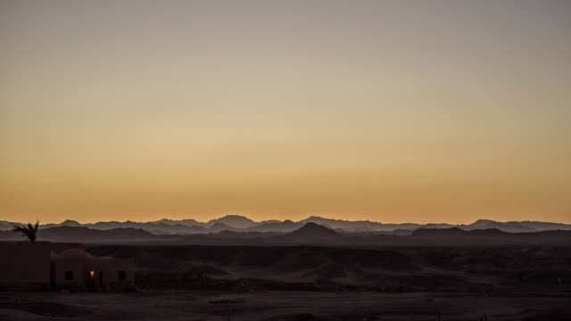 sunset in the desert - remote location stock videos & royalty-free footage