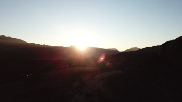 Sunset in the extreme terrain of the Cederberg in South Africa