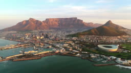 Sunset in the mother city of Cape Town