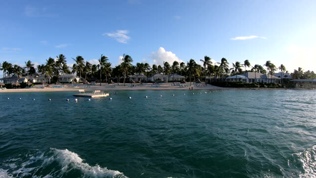 sunset key island - view into land stock videos & royalty-free footage