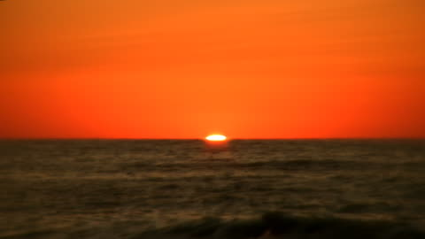 sunset ocean - seascape stock videos & royalty-free footage