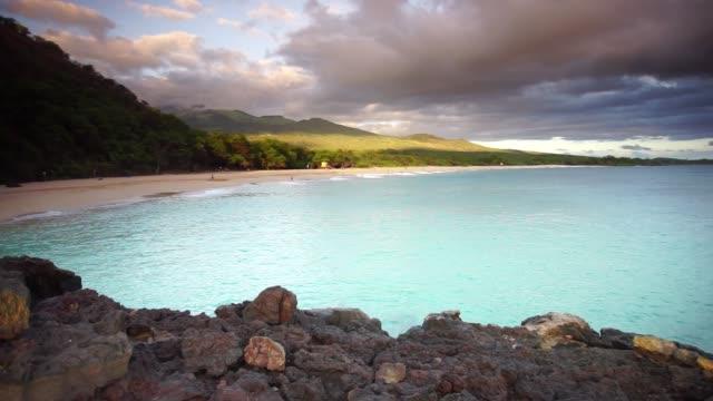 sunset of big beach on maui - maui stock videos & royalty-free footage
