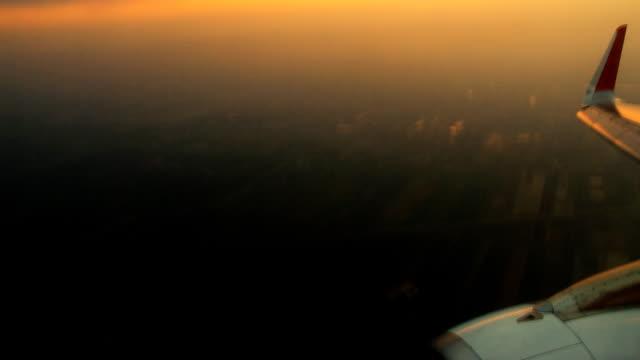 Air Time lapse dal tramonto