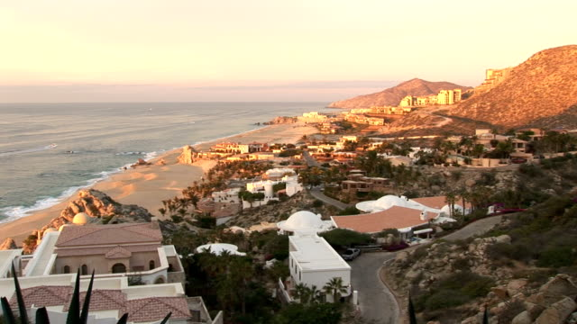 sunset on cabo - cabo san lucas stock videos and b-roll footage