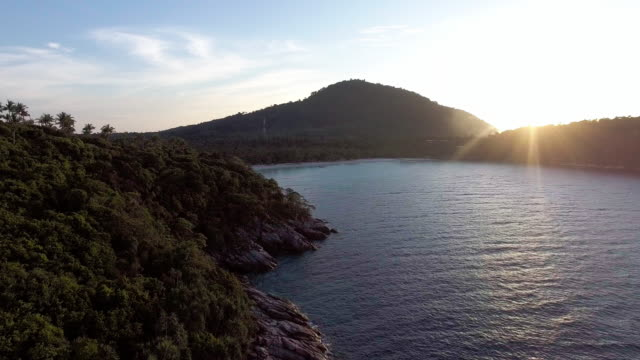 sunset on ko racha island thailand - david ewing stock videos & royalty-free footage