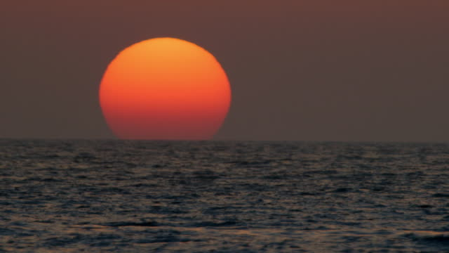 sunset on the aegean sea - sunset stock videos & royalty-free footage