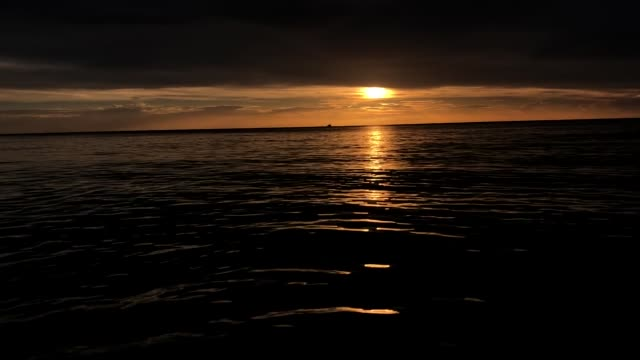 sunset on the beach - high contrast stock videos & royalty-free footage