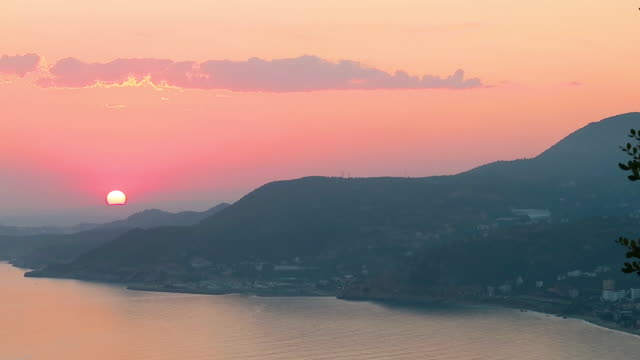 sunset on the beach - saturated colour stock videos & royalty-free footage