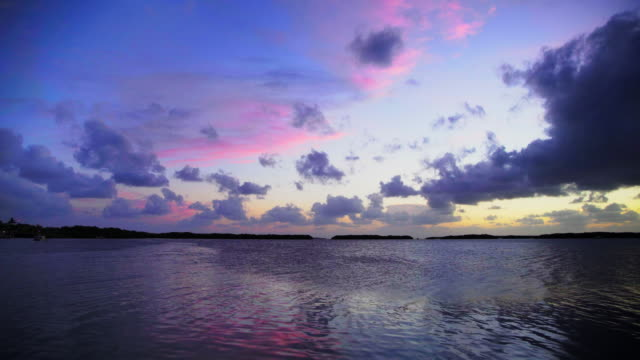 sunset on the florida keys - the florida keys stock videos & royalty-free footage
