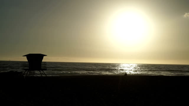 sunset on the gold coast - ventura stock videos and b-roll footage