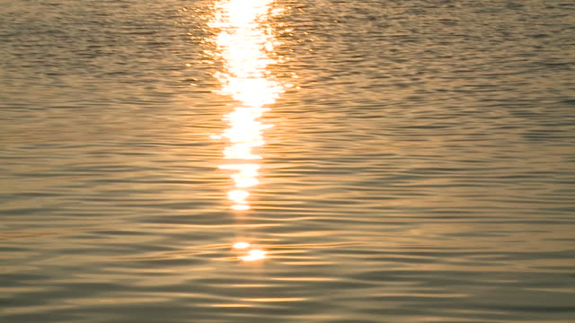 HD: Sunset on the sea