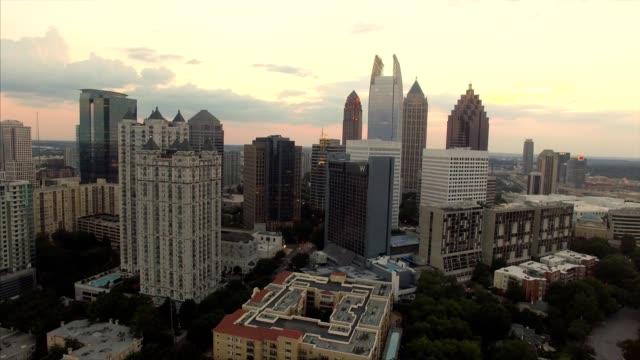 Sunset over Atlanta Georgia