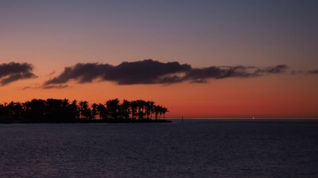 Sunset over Florida Keys