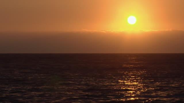 ws sunset over pacific ocean, antofagasta, chile - antofagasta region stock videos and b-roll footage