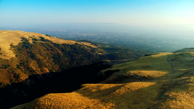 sunset over san francisco bay area - san jose california stock videos & royalty-free footage