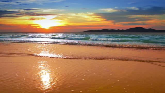 夕暮れ時、海の上。 - 幻想点の映像素材/bロール