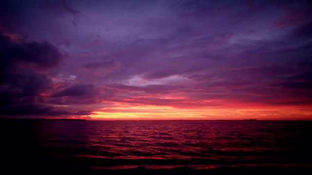 sunset over the gulf of mexico - yellow background stock videos and b-roll footage