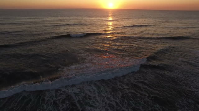 sunset over the ocean - sussex stock videos and b-roll footage