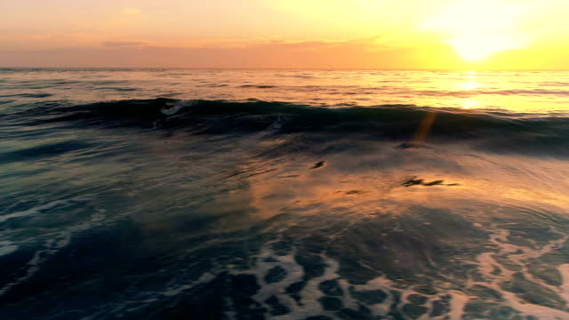 sunset over the ocean - pacific ocean stock videos & royalty-free footage