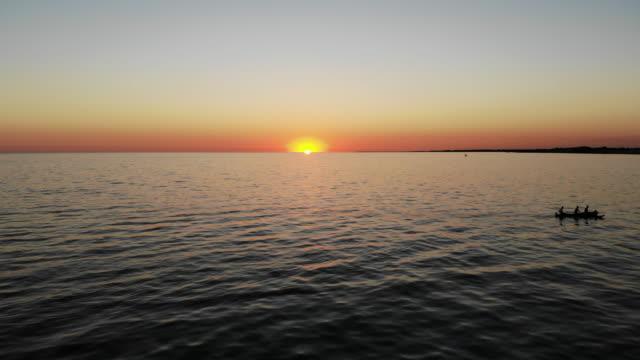 海の夕日  - マダガスカル点の映像素材/bロール