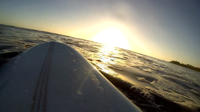 sunset paddle - using a paddle stock videos & royalty-free footage